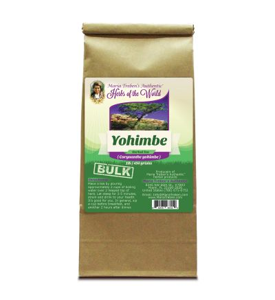 Yohimbe (Pausinystalia yohimbe) 1lb/454g BULK Herbal Tea - Maria Treben's Authentic™ Herbs of the World
